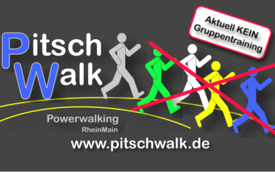 Kein Powerwalking-Gruppentraining